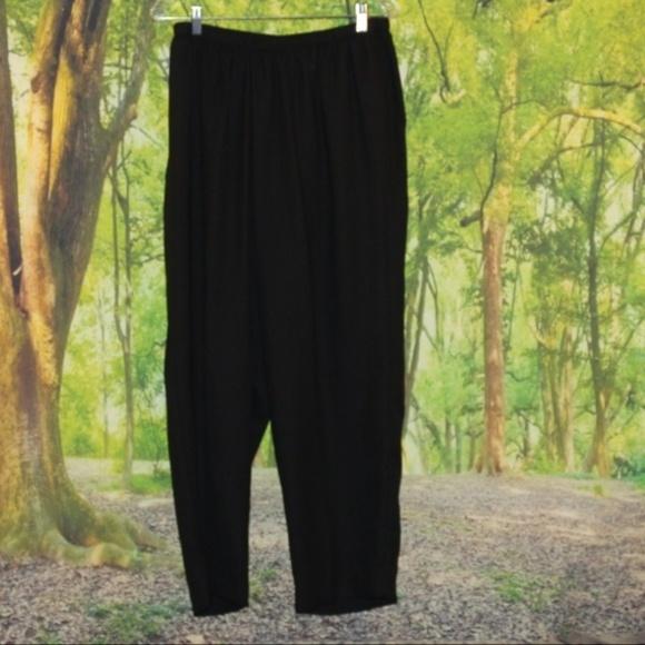 Plus Size 18WP Thin Black Dress Pants Office Work